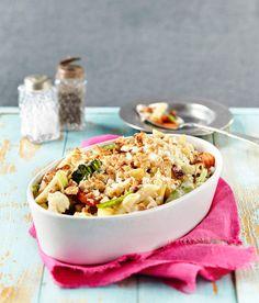 Kukkakaali-pekonipasta | K-ruoka #kaali