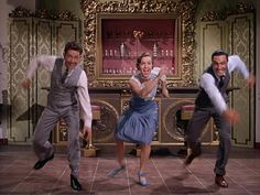 Singing in the Rain.... who doesn't like this movie :)