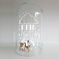 'Rain is just confet