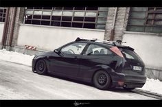 Black Low Ford Focus mk1