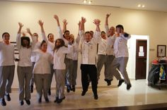 Jump for the love of sensory class! #smell #taste #touch #hear #see #improve