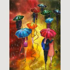 I really Love this umbrella art