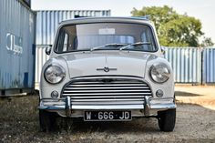 Looking for the MINI Classic of your dreams? There are currently 29 MINI Classic cars as well as thousands of other iconic classic and collectors cars for sale on Classic Driver. Classic Mini, Classic Cars, Cooper Car, Mini Copper, Collector Cars For Sale, Mini S, Retro Cars, Mk1, Hot Cars
