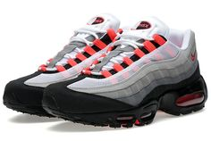 """Available: Nike Air Max 95 """"Solar Red"""""""