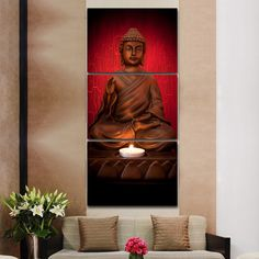 Cheap picture for living room, Buy Quality canvas picture directly from China painting picture Suppliers: 3 Piece Canvas Art Modern Printed Buddha Painting Picture Decoracion Buddha Paintings Wall Canvas Pictures For Living Room Canvas Pictures, Pictures To Paint, Print Pictures, 3 Piece Canvas Art, Canvas Wall Art, Canvas Prints, Budha Painting, Painting Art, Buddha Wall Art