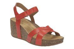 de564298b971 Clarks Temira Compass - Grenadine Lea - Womens Casual Sandals
