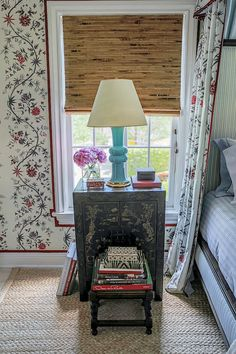 AT HOME WITH... - Mark D. Sikes: Chic People, Glamorous Places, Stylish Things/ wall covering (tape)