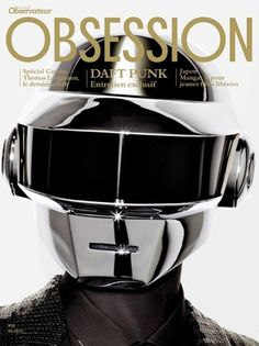 Daft Punk Cover Obsession Magazine