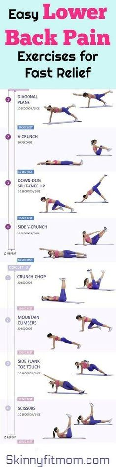 13 Best Lower Back Pain Exercises for Fast Relief At Home