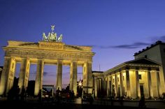 Berlin, Germany. Where the Brandenburg Gate is, where Hitler killed himself, and where Michael Jackson dangled his baby out the hotel window.