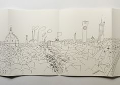 Cities of Italy-Saul Steinberg at Nieves