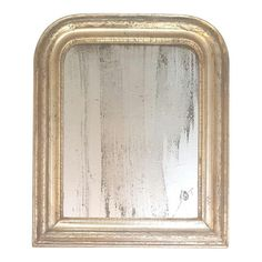 Image of Louis Phillipe Silver Leafed Mirror