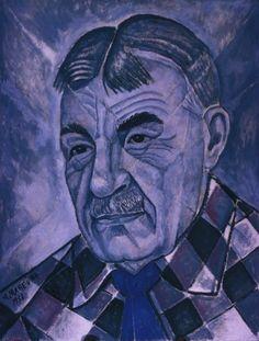 Portrait of Sergei Diaghilev, 1956  Marevna (Marie Vorobieff)