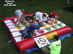 Twister inflatable jumping castle hire melbourne victoria