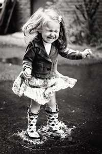 This reminds me of my daughter many years ago, she hated wearing her boots....