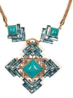 Turq Gardner Pendant Necklace | BaubleBar
