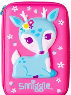13/03/2017 - via Ebay - BNWT ��SMIGGLE�� Super Cute Deer Hardtop Pencil Case = £13.79 === £631.96