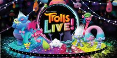 ' touring show to debut in November Dreamworks Animation, Animation Film, Troll Cupcakes, Birthday Candles, Birthday Cake, Putting On The Ritz, Poppy And Branch, Party Songs, Theatre Reviews