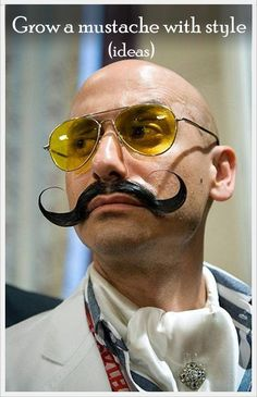 If you want to grow a mustache to change your style or simply participate in the Movember movement, but don't know how to deal and style it, you have come to the right place.