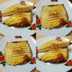 Szafi Fitt gluténmentes melegszendvics Fitt, Paleo, Baked Potato, French Toast, Pork, Potatoes, Baking, Breakfast, Ethnic Recipes