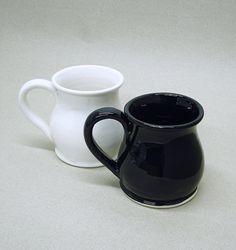 Black Espresso cup Modern Ceramic coffee Tea by blueroompottery, $19.00