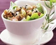Salade paysanne (facile, rapide) - Une recette CuisineAZ.  Testé.