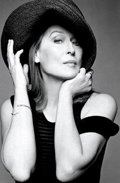 """I didn't have any confidence in my beauty when I was young. I felt like a character actress, and I still do"" Meryl Streep"