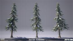 ArtStation - Far Cry Primal - Vegetation Assets Renders, Jobye-Kyle Karmaker