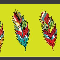 printed feather by A_DF