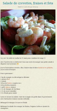 Ou Se Situe Le Coeur De La Crevette : situe, coeur, crevette, Idées, Salade, Crevettes, Crevettes,