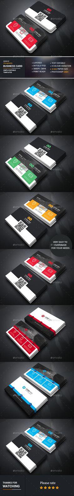 Business Card Bundle Templates PSD. Download here: http://graphicriver.net/item/business-card-bundle/16888762?ref=ksioks