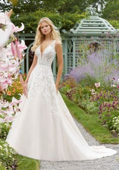 Wedding Dress Photos - Find the perfect wedding dress pictures and wedding gown photos at WeddingWire. Browse through thousands of photos of wedding dresses. Bridal Wedding Dresses, Wedding Dress Styles, Dream Wedding Dresses, Bridesmaid Dresses, Lace Wedding, Mori Lee Wedding Dress, Modest Wedding, Wedding Ceremony, Mori Lee Bridal