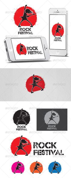 Rock Festival Logo  - EPS Template • Only available here ➝ http://graphicriver.net/item/rock-festival-logo-template/7042468?ref=pxcr
