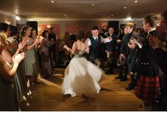 At Carberry Tower - this was one rocking ceilidh!