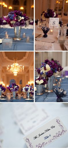 @Courtney Mickelson    Love the purple/blue floral combos!
