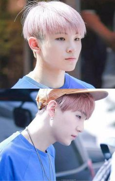 wow this one really does look like woozi is suga little brother