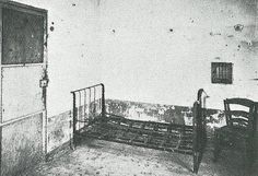 Vincent van Gogh's room in the psychiatric hospital in Saint-Paul-de Mausole in Saint-Remy