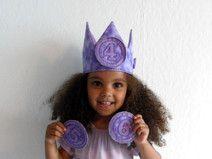 Geburtstagskrone Kindergeburtstag Krone Zahlen
