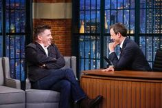 On last night's LATE NIGHT WITH SETH MEYERS, Craig Ferguson stopped by to talk about his new game show, 'Celebrity Name Game'. He also had some hosting advice for Meyers.