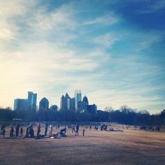 Piedmont Park days