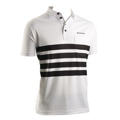 Gent Pearl Active Lifestyle Polo-A customer favorite and instant classic. Also available in white on black