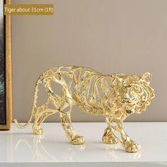Textile Sculpture, Lion Sculpture, Garden Accessories, Jewelry Accessories, Golden Tiger, Animal Sculptures, Online Fashion Stores, State Art, Art For Sale