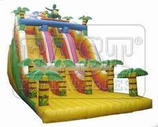 Jungle SlideModel No: E3-009 	Brand Name: East  Place of Origin: China 	Size(Feet):33ft(L)x16ft(W)x23ft(H)  Weight: Kg 	Size(Meter): 10m(L)x5m(W)x7m(H)