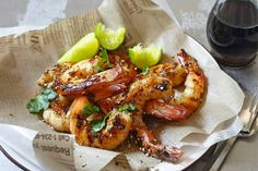 King of the Grill author Ross Dobson shares his quick and easy Thai Pepper Garlic Prawns for a simply and tasty meal. Thai Dishes, Fish Dishes, Seafood Dishes, Fish And Seafood, Thai Prawn Recipes, Shrimp Recipes, Asian Recipes, Ethnic Recipes, Fish Recipes