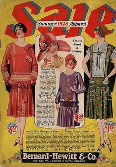 Bernard Hewitt catalogue, cover, 1928
