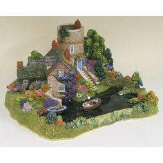 Lilliput Lane Go With The Flow | Limited Editions | Lilliput Lane Cottages