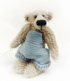 Teddy bears are much like humans—they come in every size and shape.  Add to that the many varieties of yarn and crochet hooks to choos...