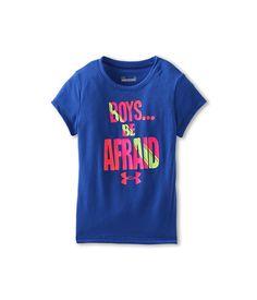 Under Armour Kids Boys Be Afraid Tee (Little Kids) Blue Away - Zappos.com Free Shipping BOTH Ways