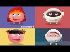 Thinkrolls 2 - Geniales Logikspiel für Kinder (iPad, iPhone, Android, Kindle Fire)