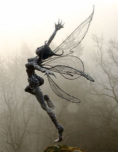 Wire Fairy Sculptures
